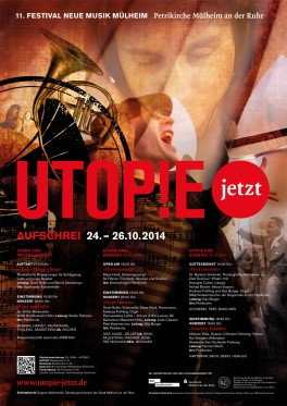 Utopie jetzt! Plakat 2014