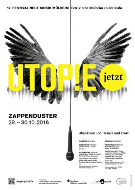 Utopie jetzt! Plakat 2016